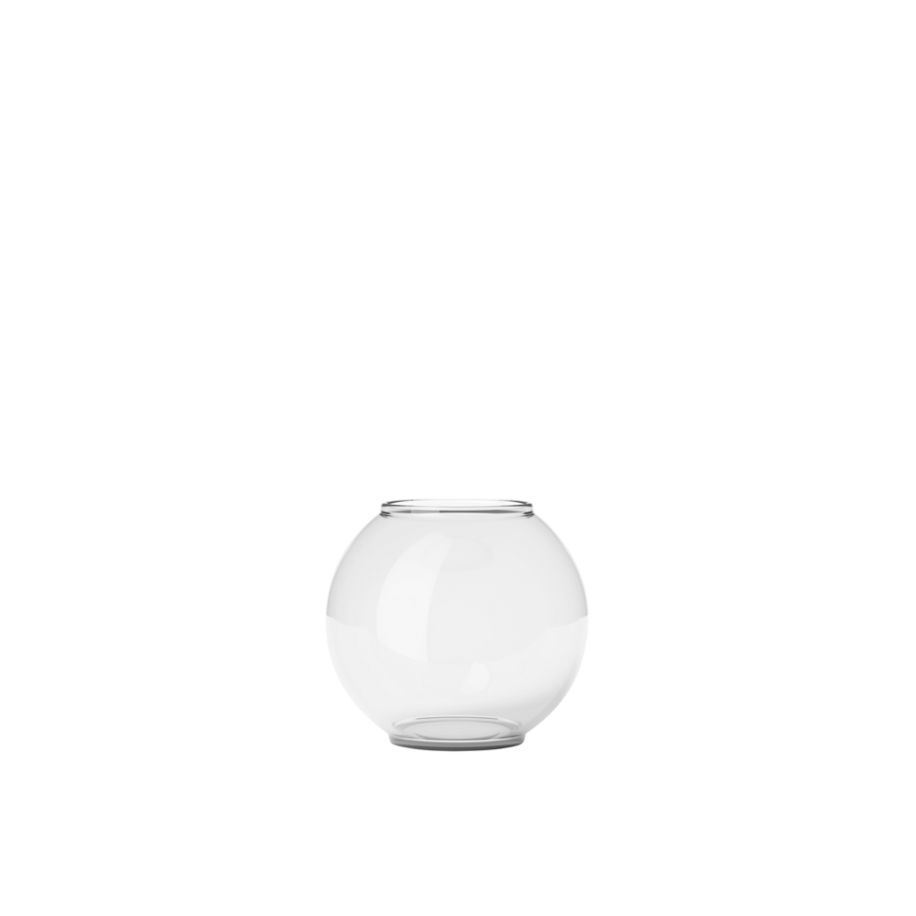 FORM VASE 70/3 CLEAR 14 CM