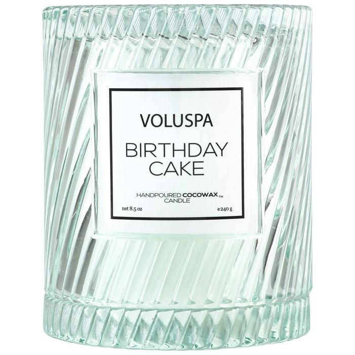 BIRTHDAY CAKE ICON CLOCHE COVER CANDLE