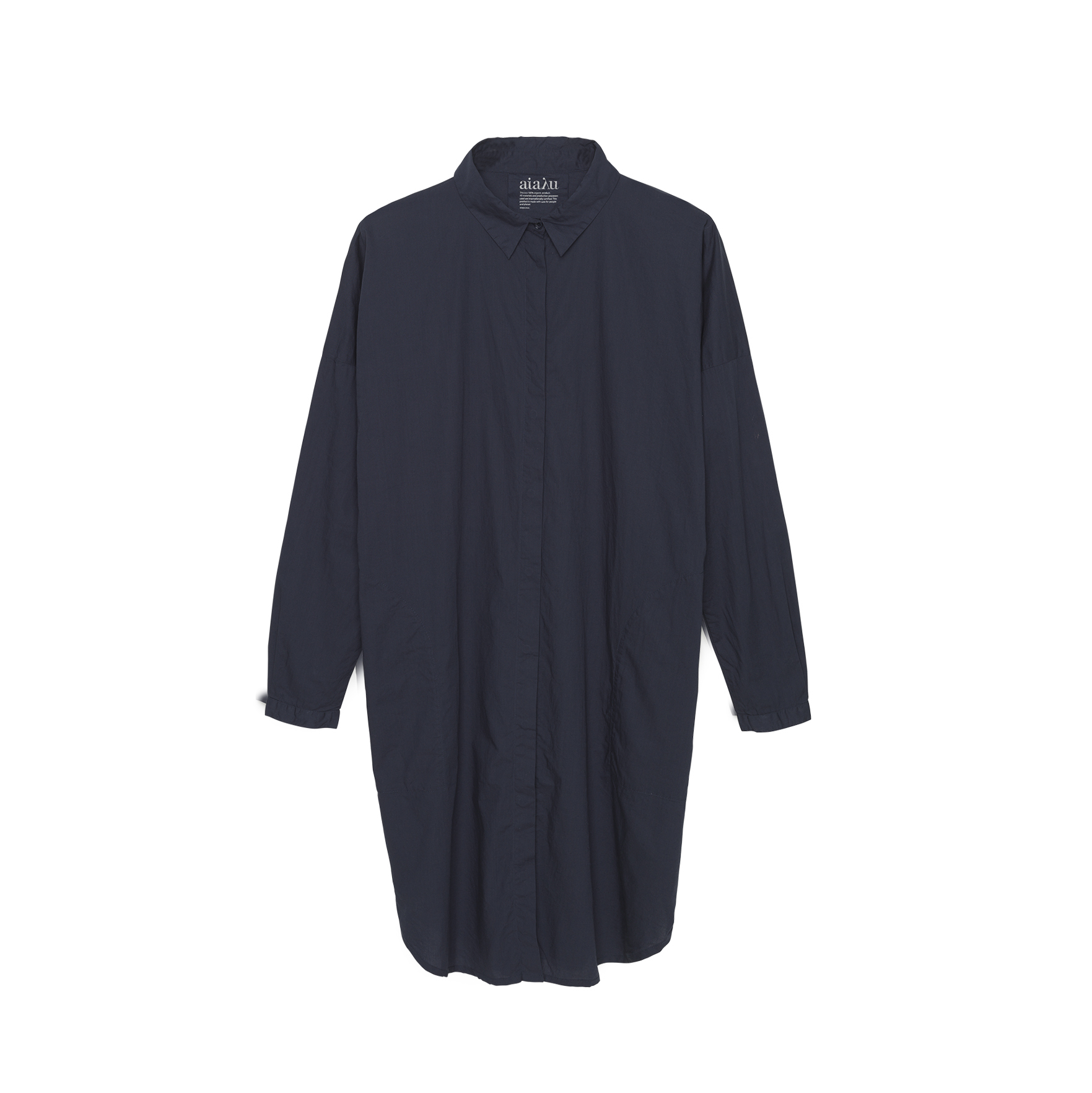 SHIRT DRESS NAVY