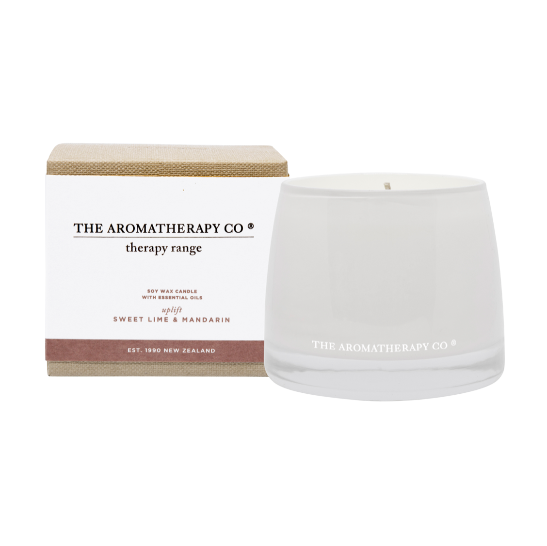 THERAPY CANDLE - UPLIFT - SWEET LIME & MANDARIN