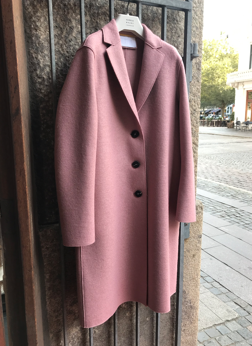 OVERCOAT OLD ROSE