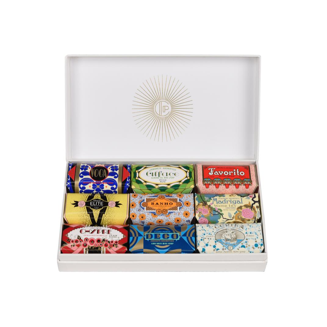 GIFT BOX DECO - 9X50G SOAPS