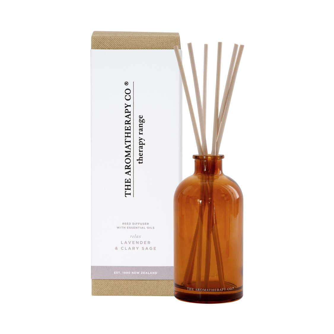 THERAPY DIFFUSER - RELAX - LAVENDER & CLARY SAGE