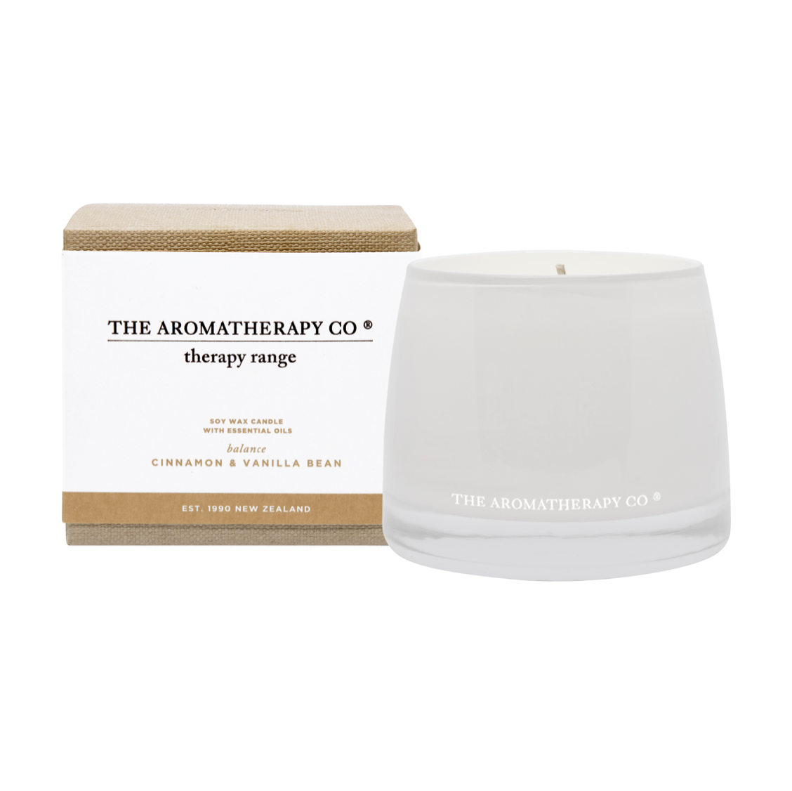 THERAPY CANDLE - BALANCE - CINNAMON & VAILLA BEAN