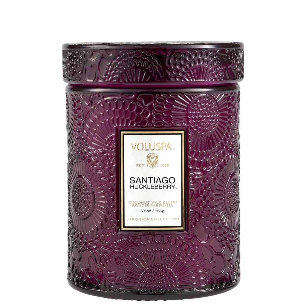 SANTIAGO HUCKLEBERRY SMALL JAR CANDLE