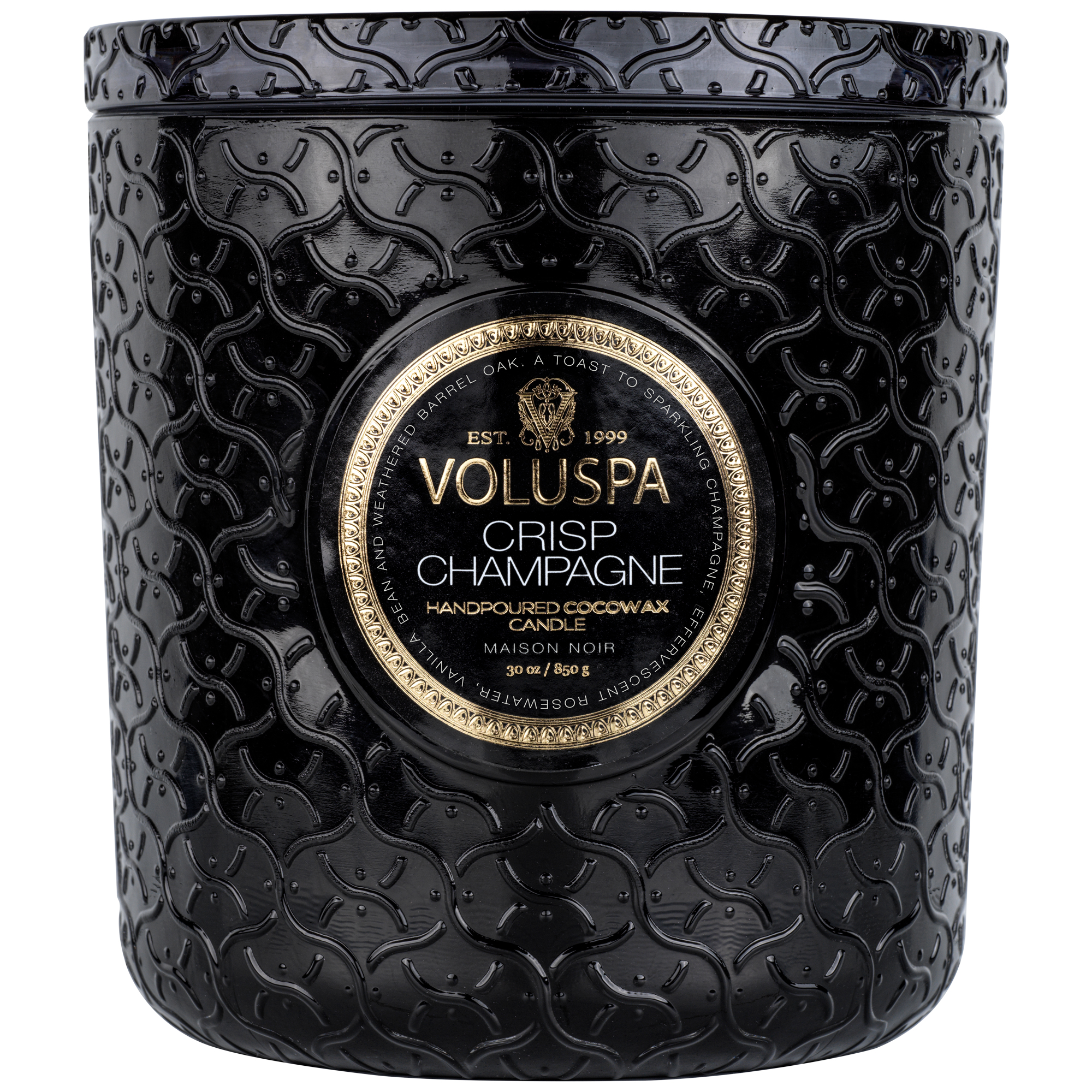 CRISP CHAMPAGNE LUXE CANDLE