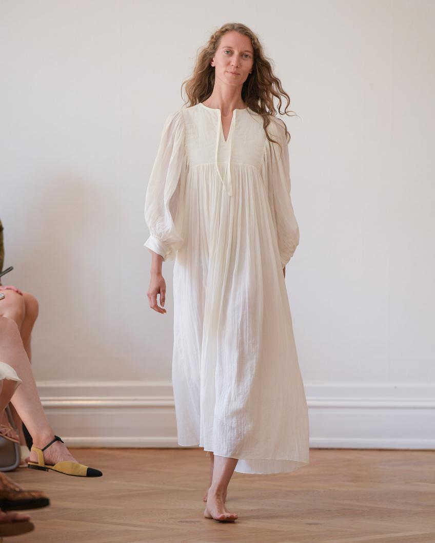 NADJA DRESS OFF-WHITE