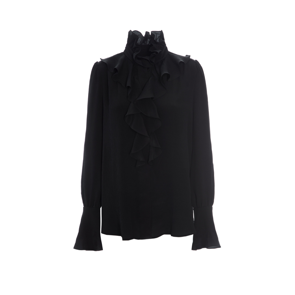 ANIMA SHIRT BLOUSE BLACK