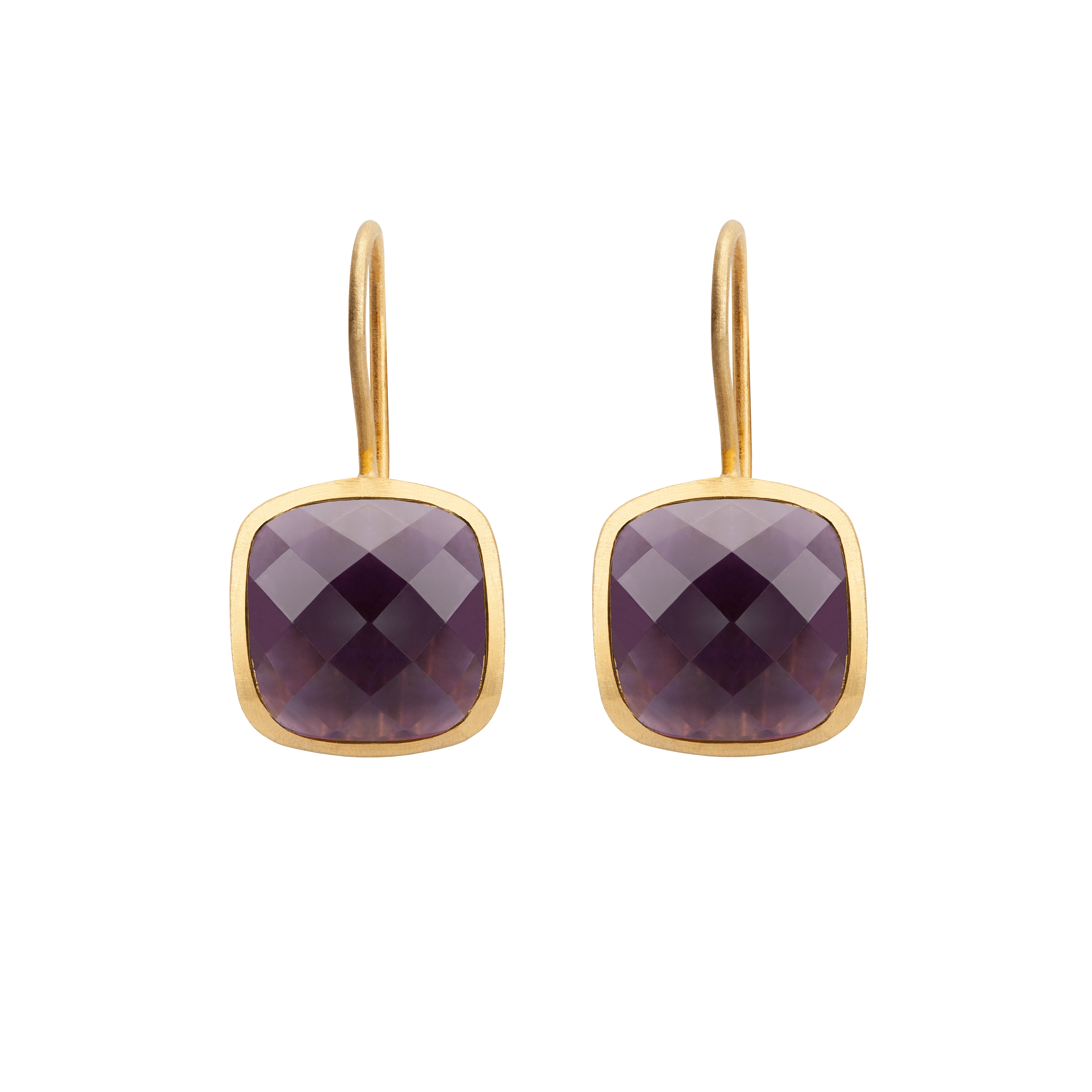 PALETTE EARRINGS AMETHYST