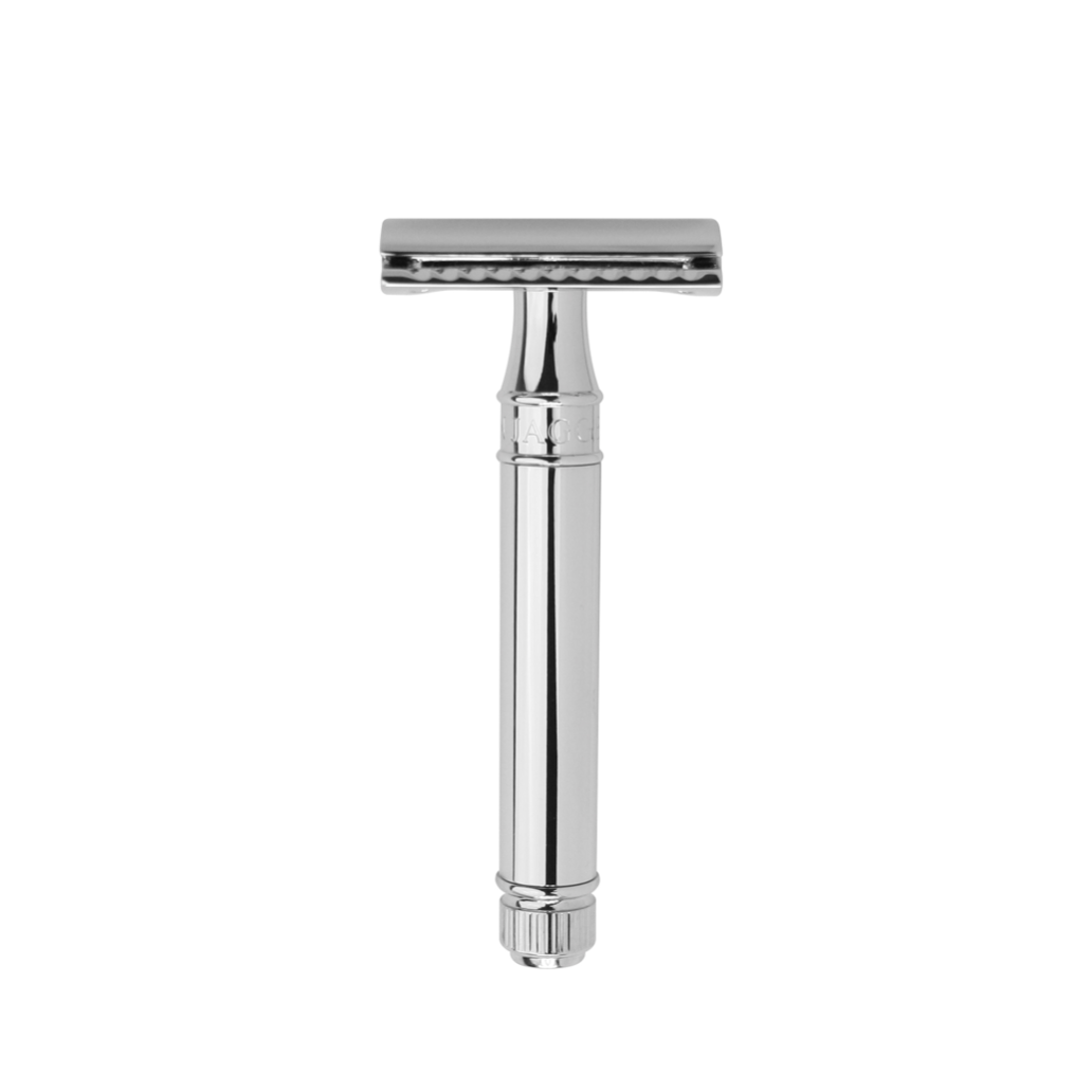 DOUBLE EDGE SAFETY RAZOR CHROME