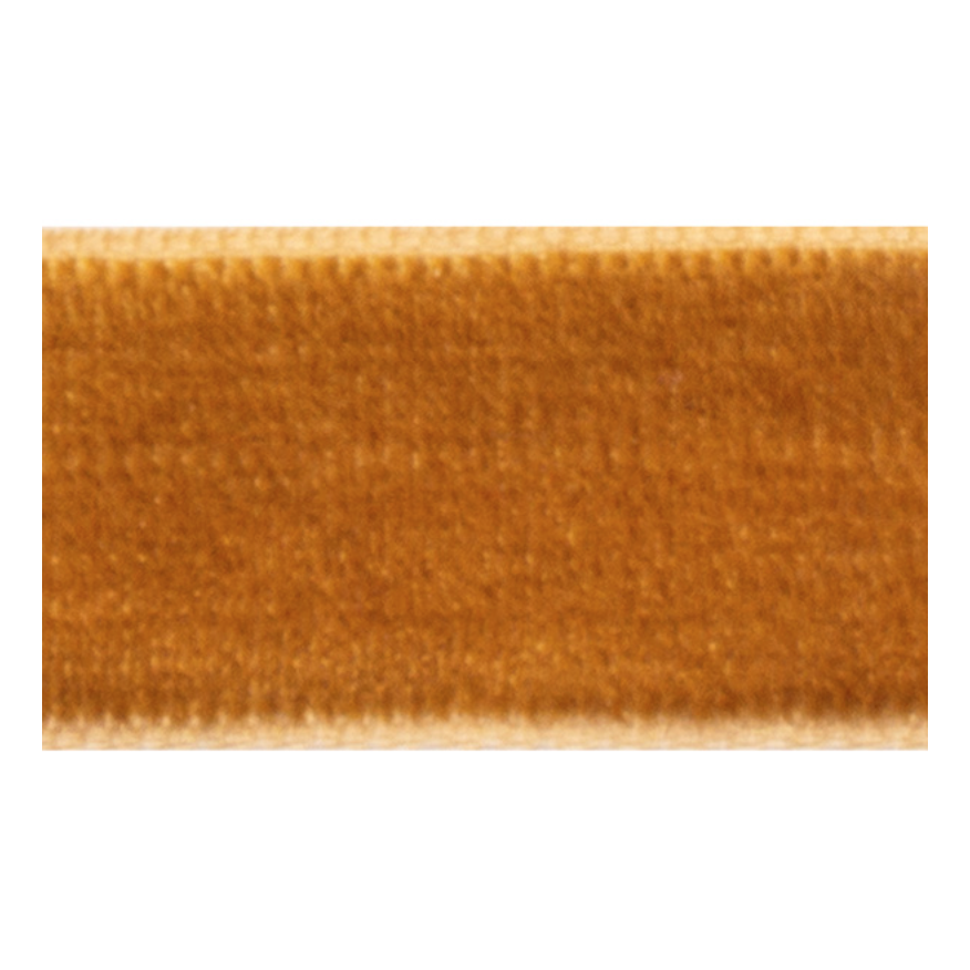 VELOUR RIBBON COPPER