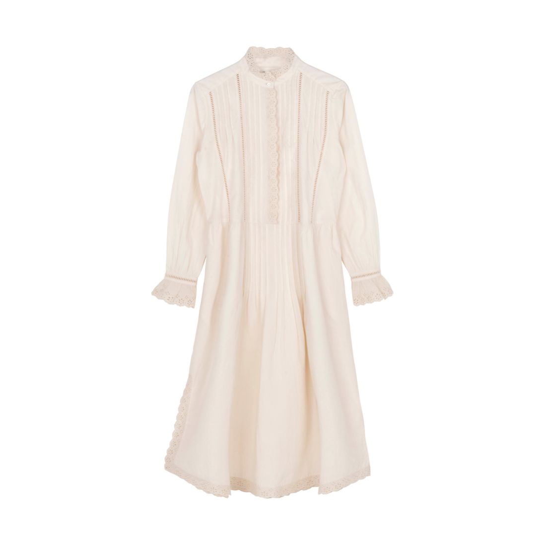DAHLIA SHIRTDRESS IN ORGANIC COTTON
