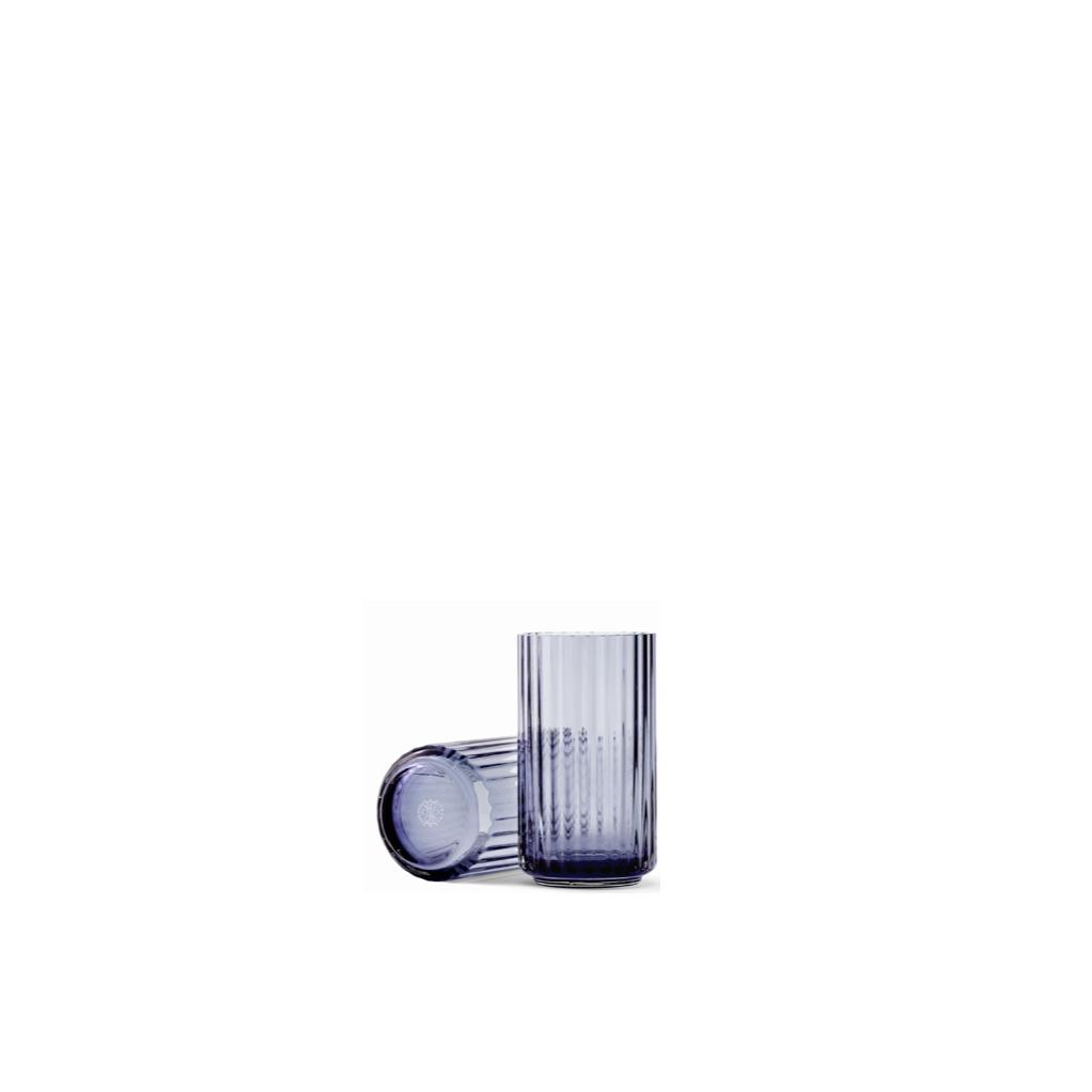 LYNGBY VASE BLUE 12 CM
