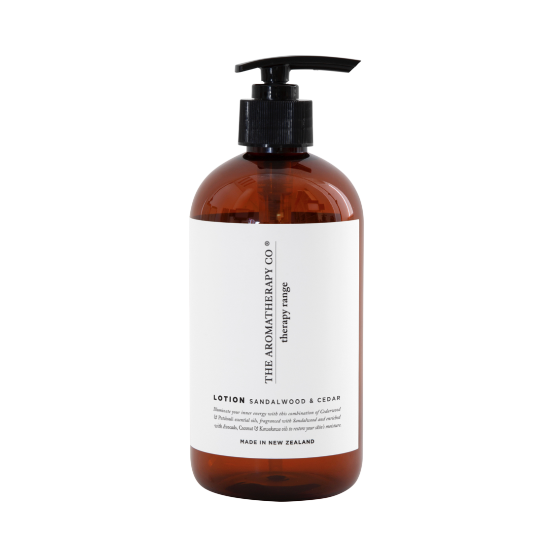 THERAPY HAND & BODY LOTION - STRENGTH - SANDALWOOD & CEDAR