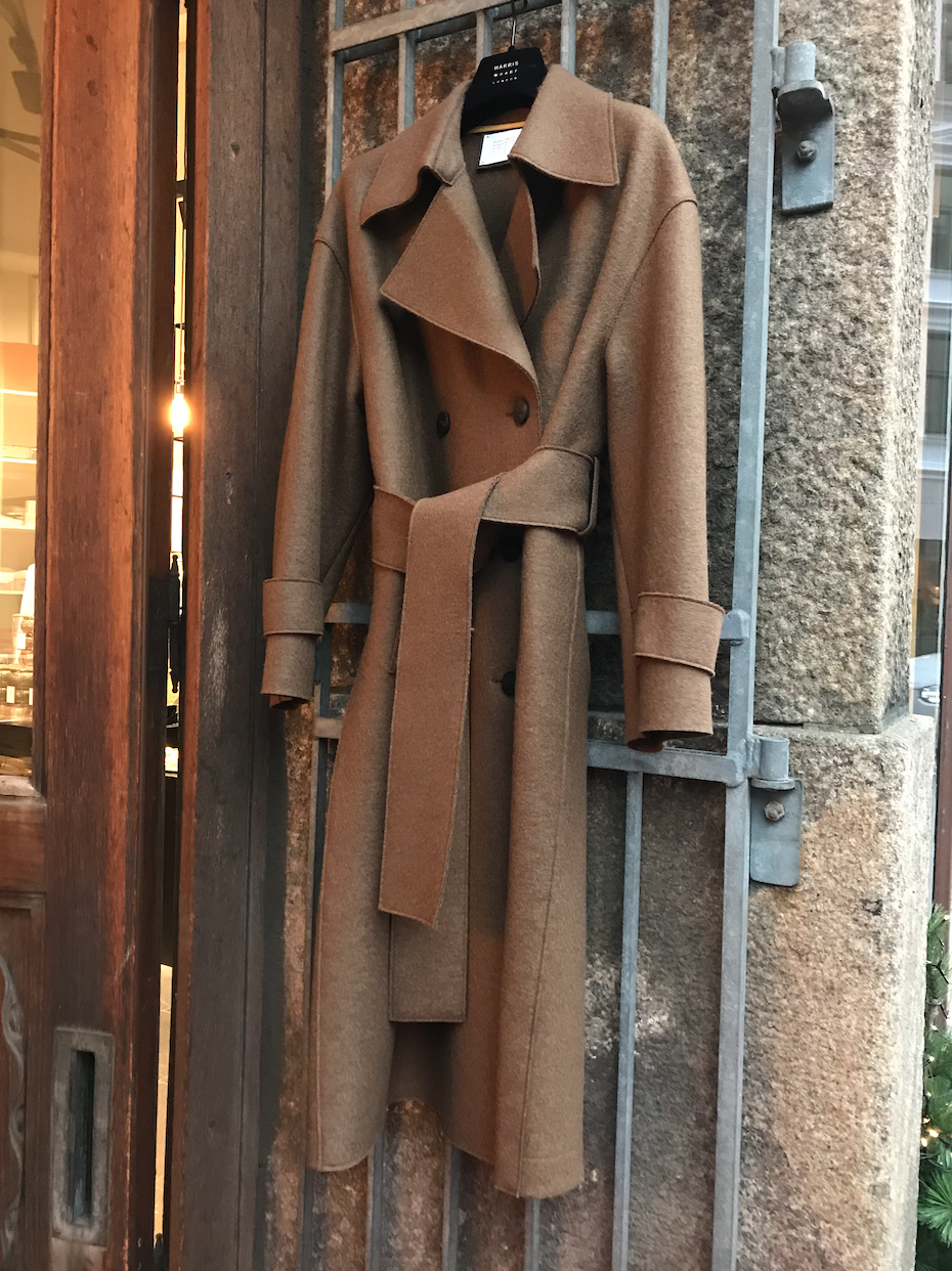 OVERSIZED TRENCH COAT BROWN