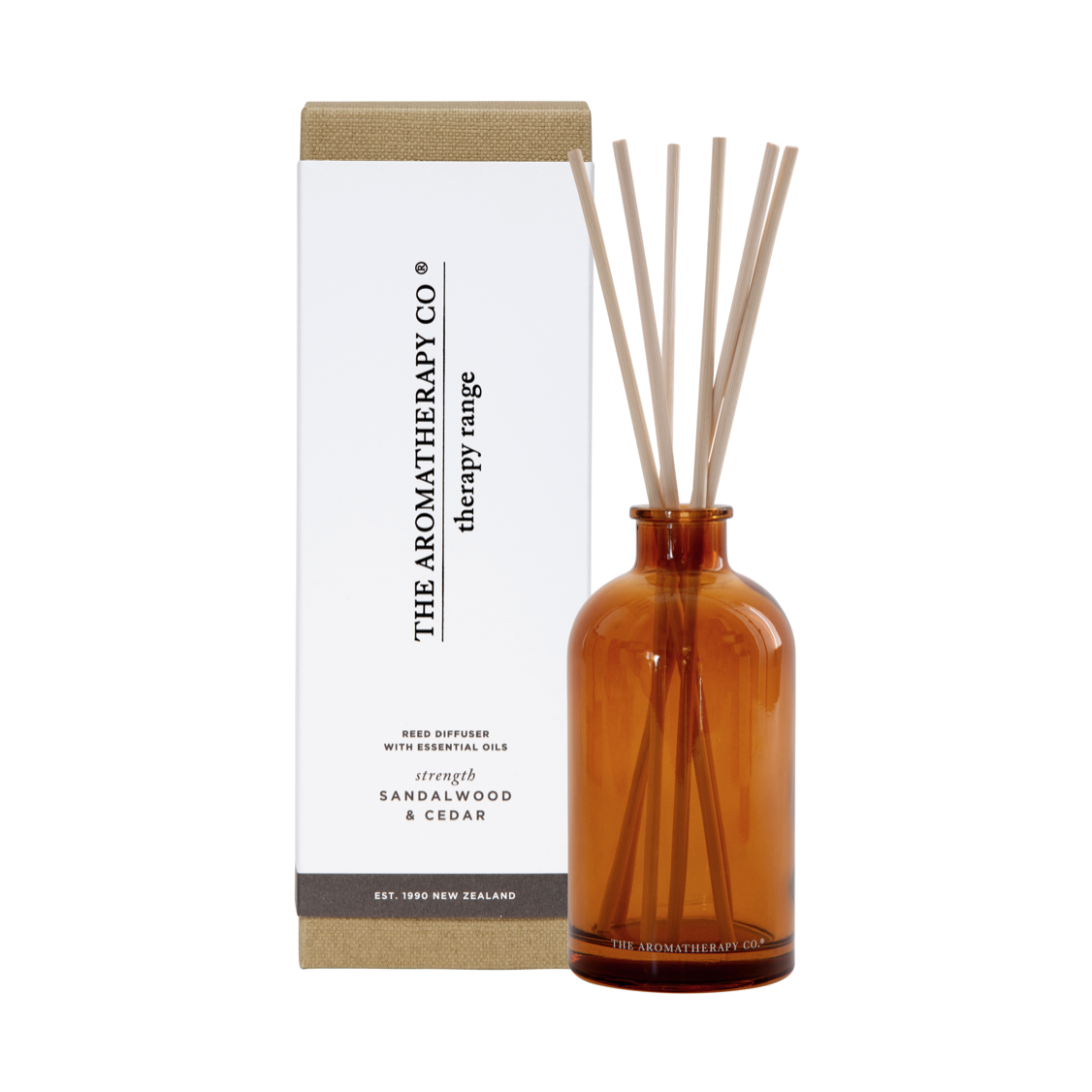 THERAPY DIFFUSER - STRENGTH - SANDALWOOD & CEDAR