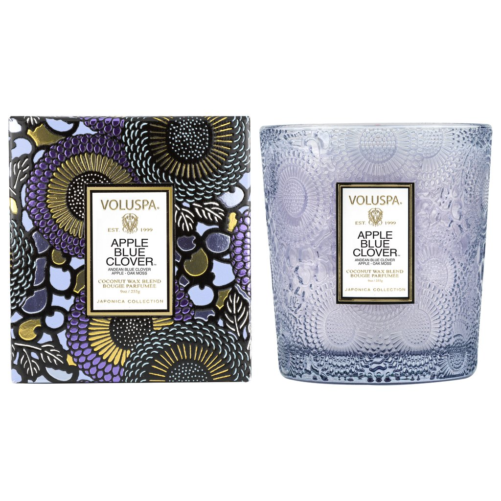 APPLE BLUE CLOVER CLASSIC CANDLE