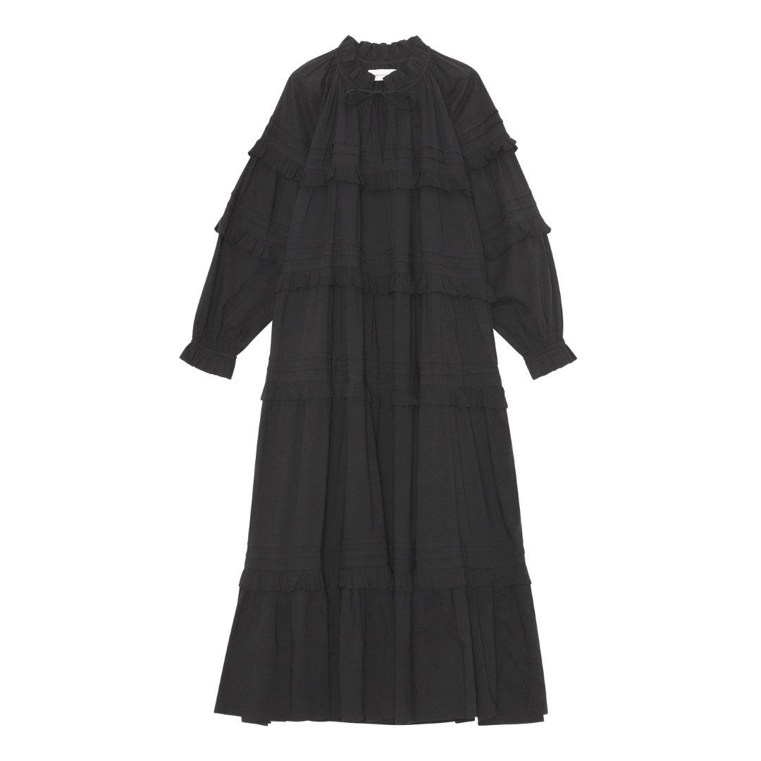 ASTER DRESS BLACK
