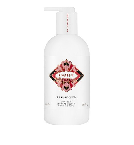 CHYPRE CEDAR POINSETTIA LIQUID SOAP