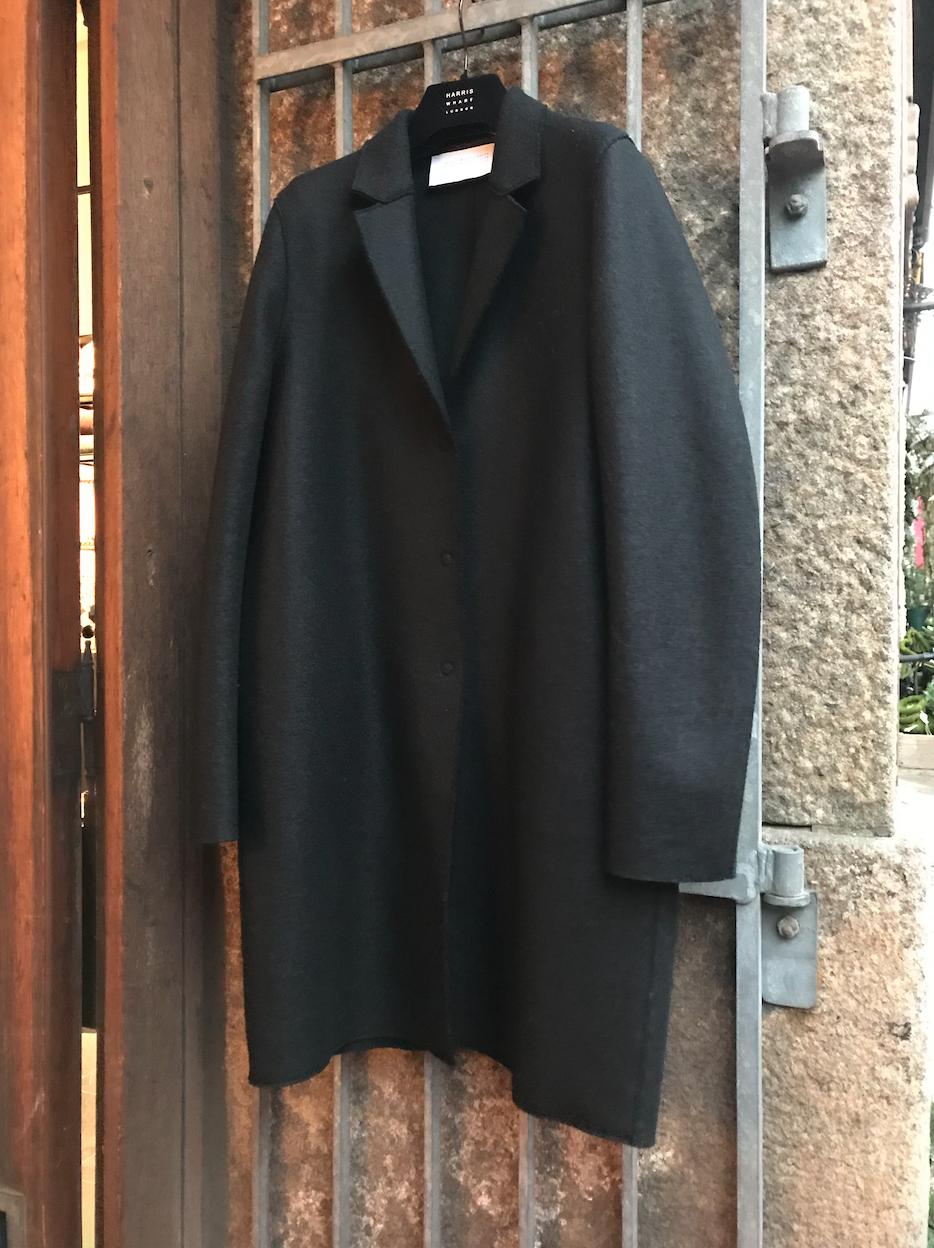 COCOON COAT BLACK