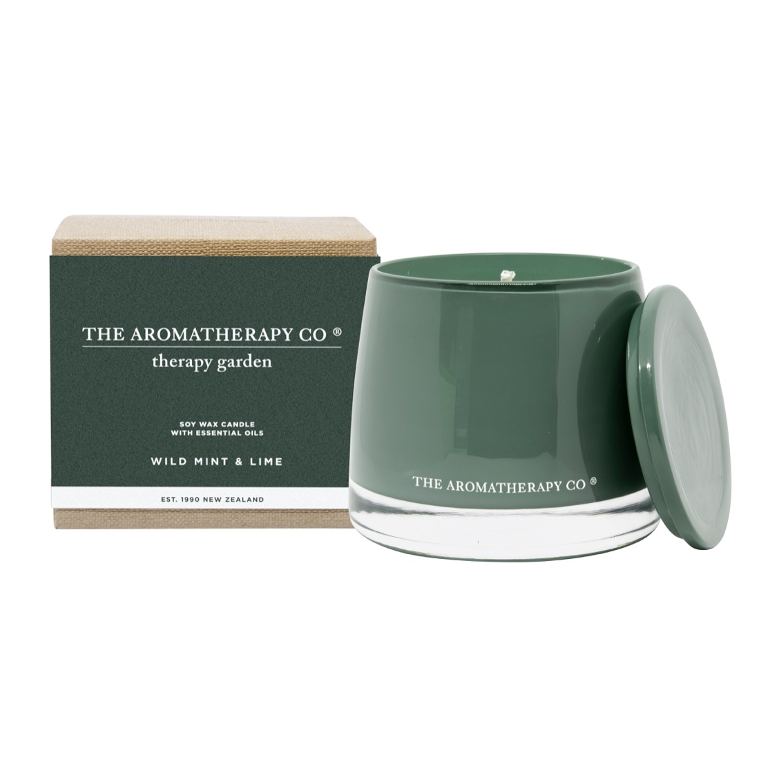 THERAPY GARDEN CANDLE - WILD MINT & LIME