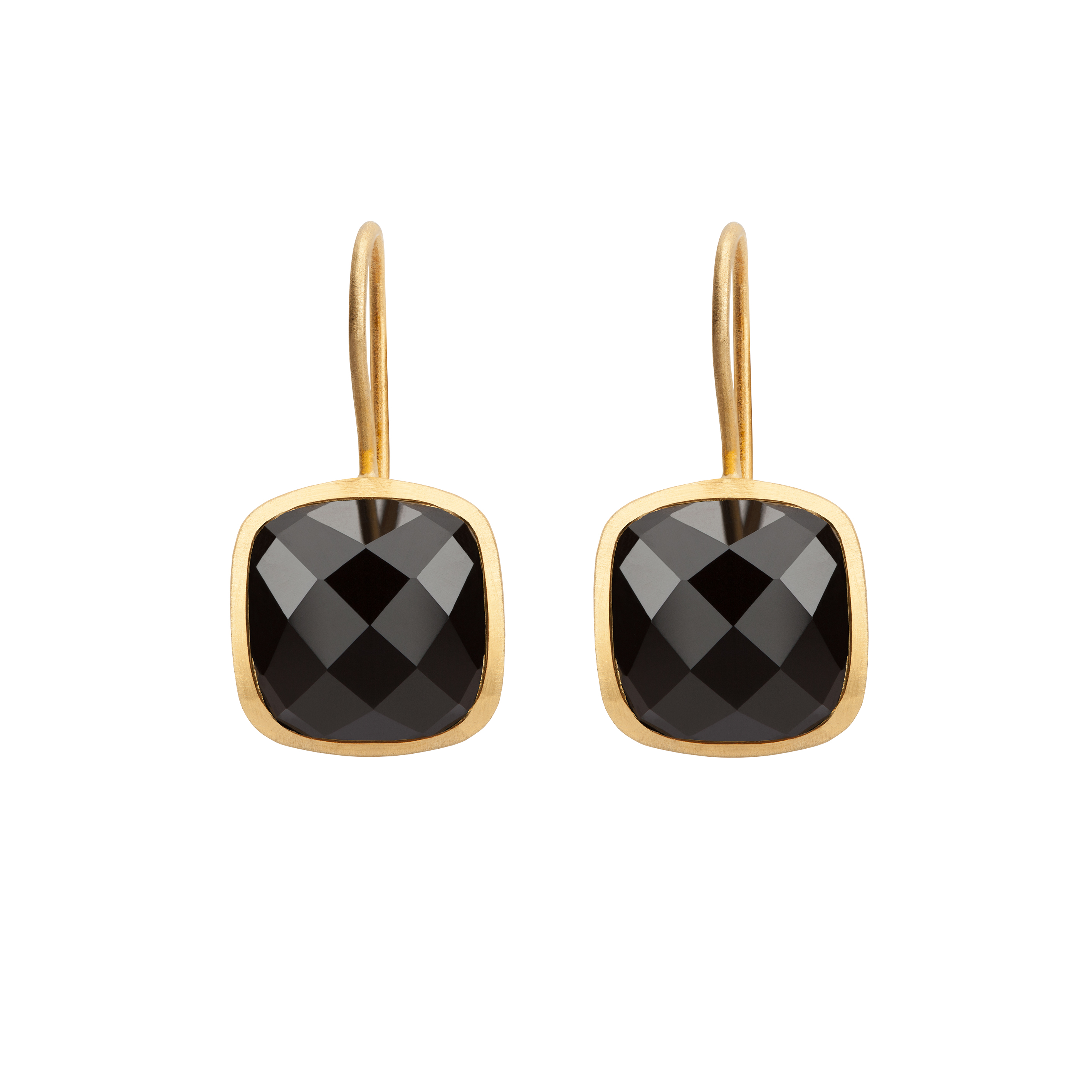 PALETTE EARRINGS BLACK ONYX