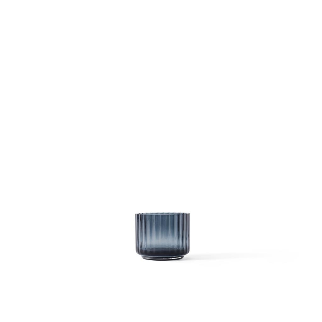 CANDLE HOLDER FOR TEALIGHTS BLUE 5,5 CM