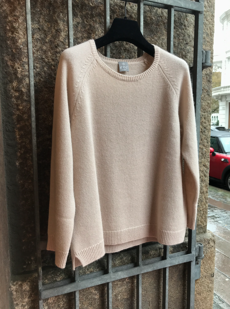 PULLOVER 3/4 SLEEVE NUDE