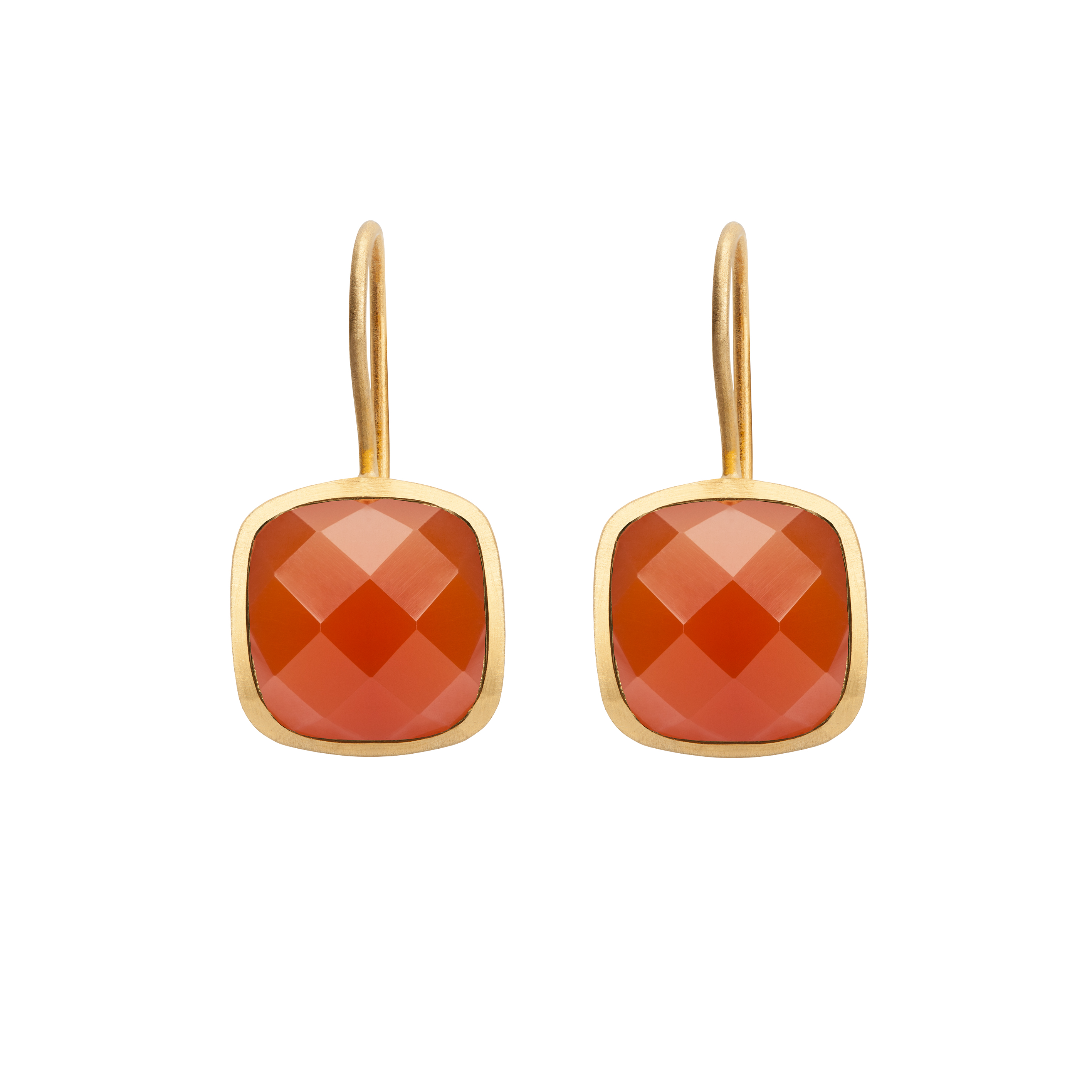 PALETTE EARRINGS RED ONYX