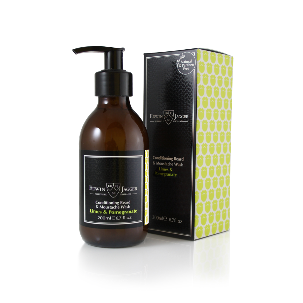 LIMES & POMEGRANATE BEARD & MOUSTACHE WASH 200ML