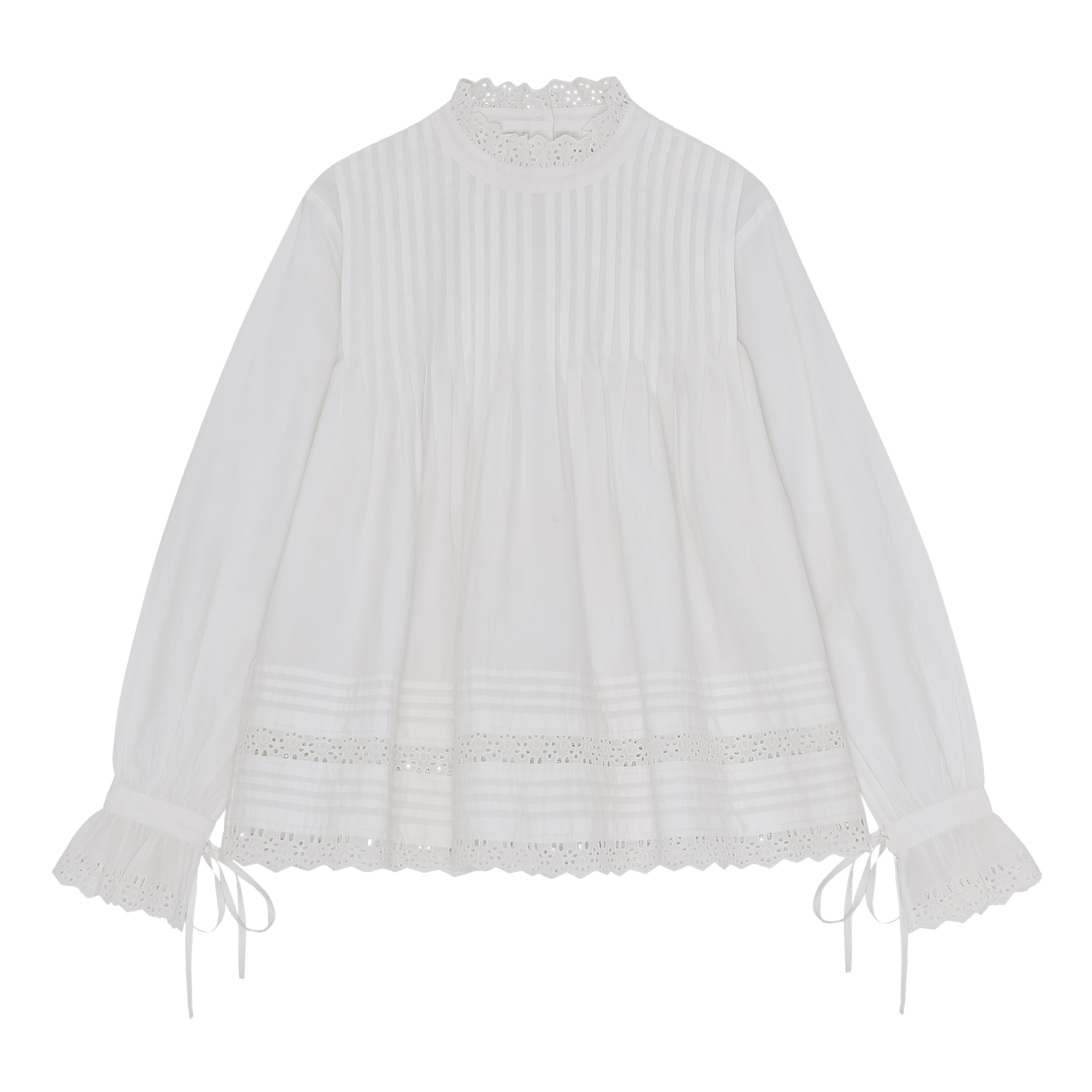 DAISY BLOUSE OPTIC WHITE