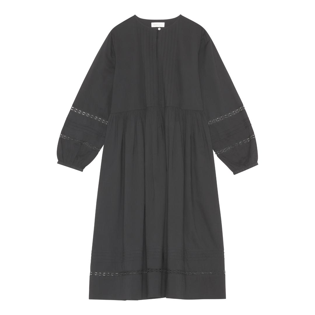 OLIVE DRESS BLACK