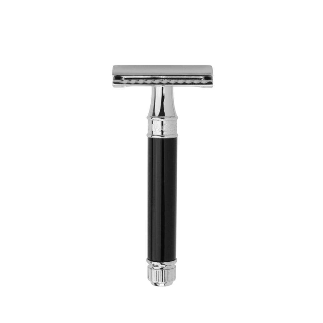DOUBLE EDGE SAFETY RAZOR BLACK