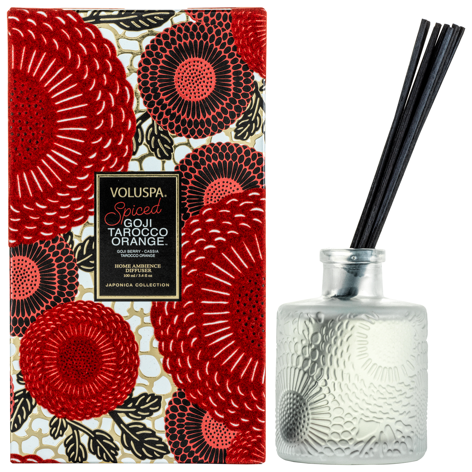 SPICED GOJI TAROCCO ORANGE REED DIFFUSER