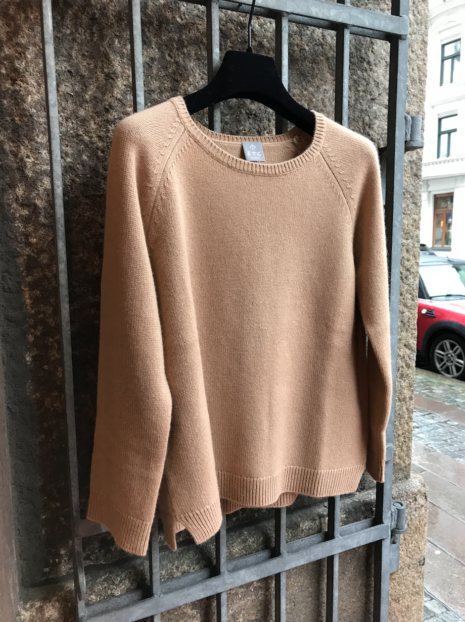PULLOVER 3/4 SLEEVE ALMOND