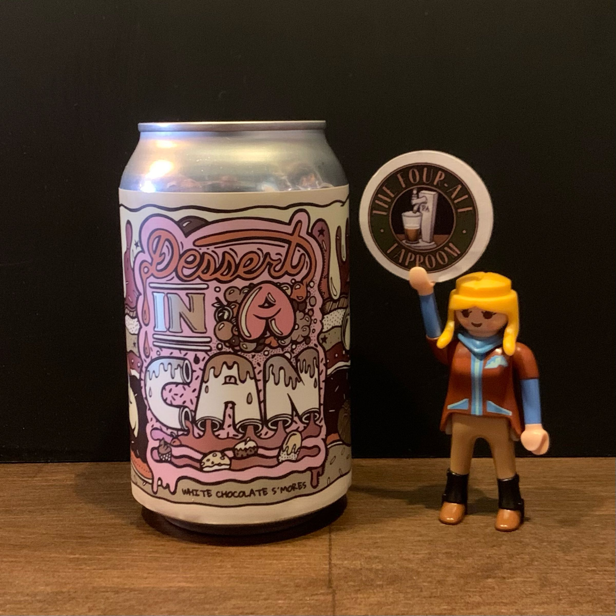 Amundsen - Dessert In A Can - White Chocolate S'mores - Imperial White Stout - 10.5%