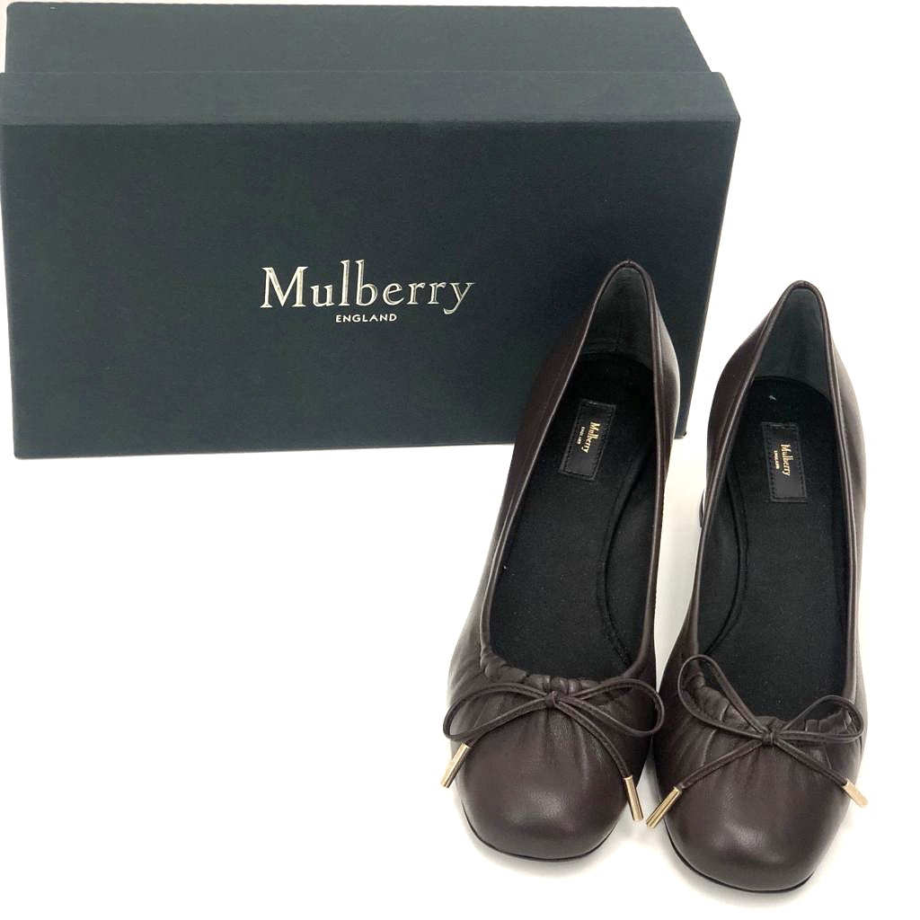 Mulberry skor oxblods bruna 37 SV5132