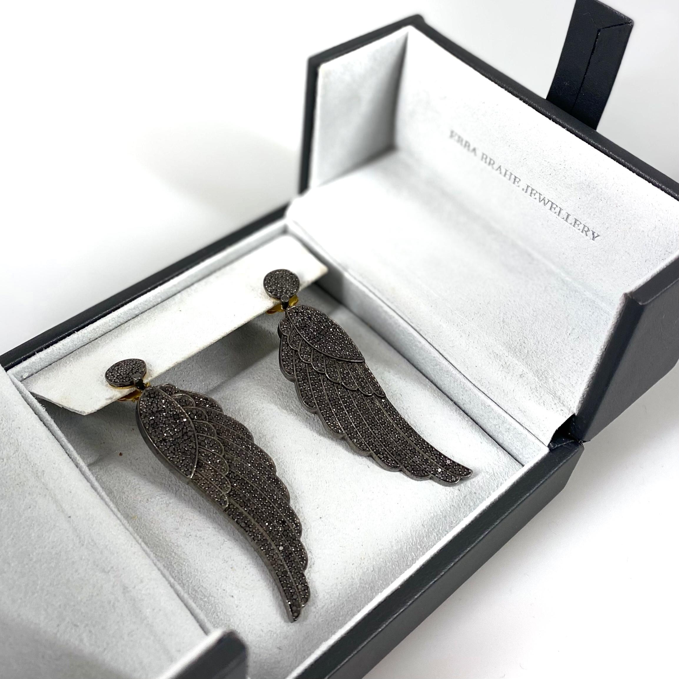 Ebba Brahe Jewellery Wings örhängen SV6285
