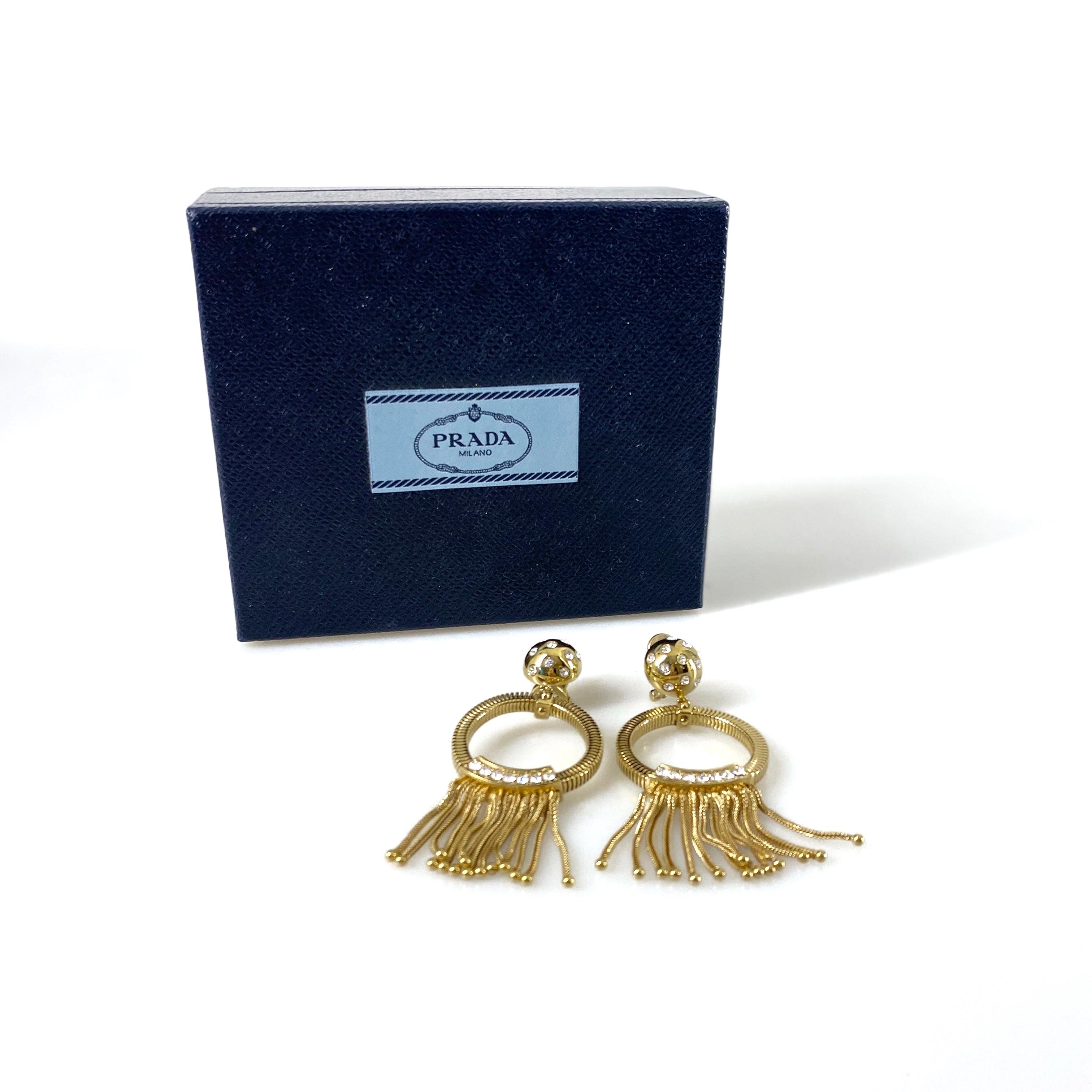 Prada örhängen clips SV6089