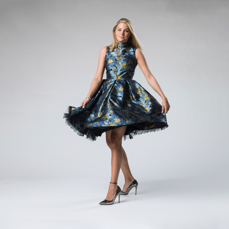 Glamour Hunter Couture klänning SV3654