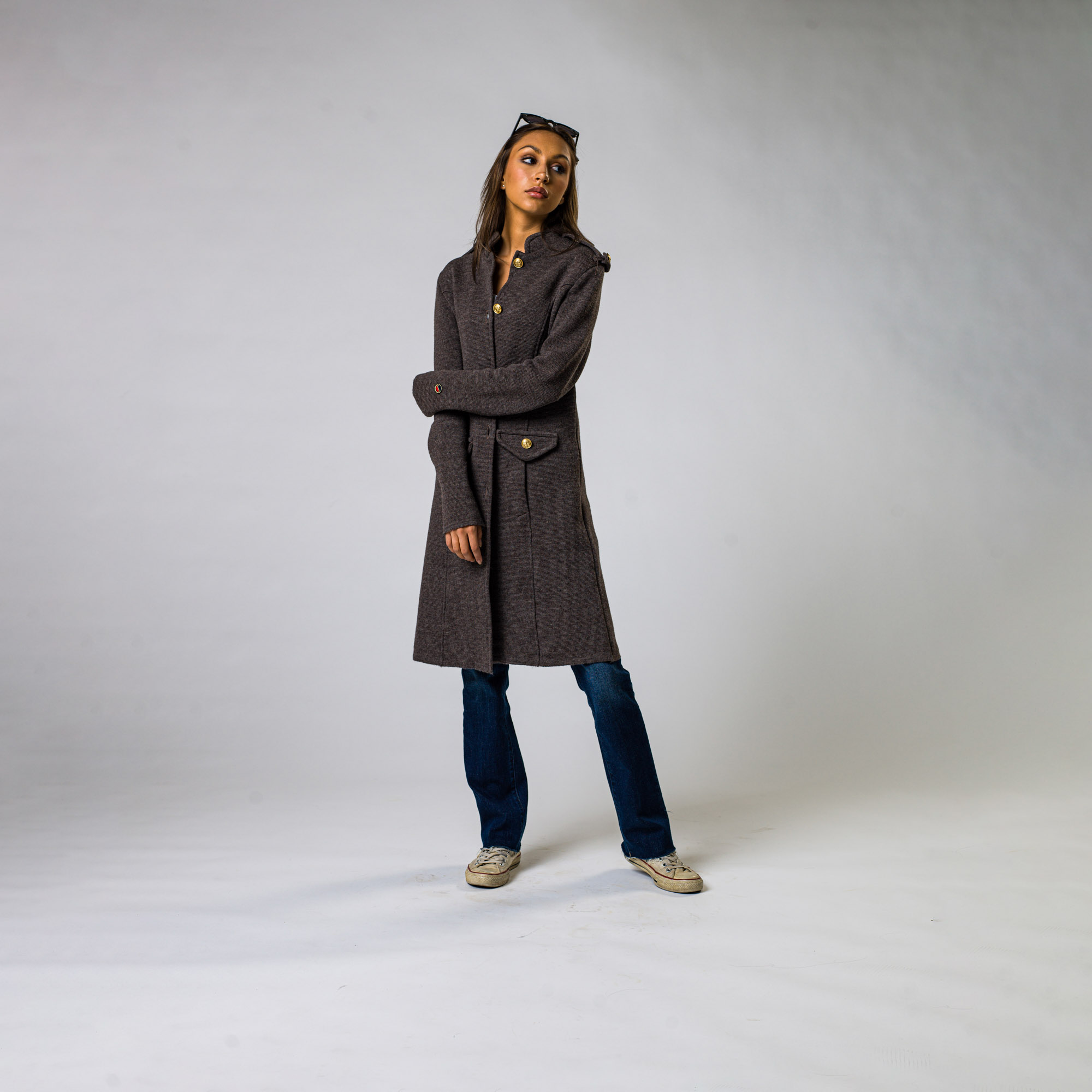 Busnel kappa grå SV5235