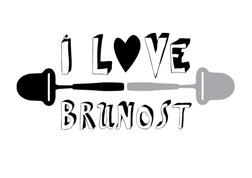 I LOVE BRUNOST