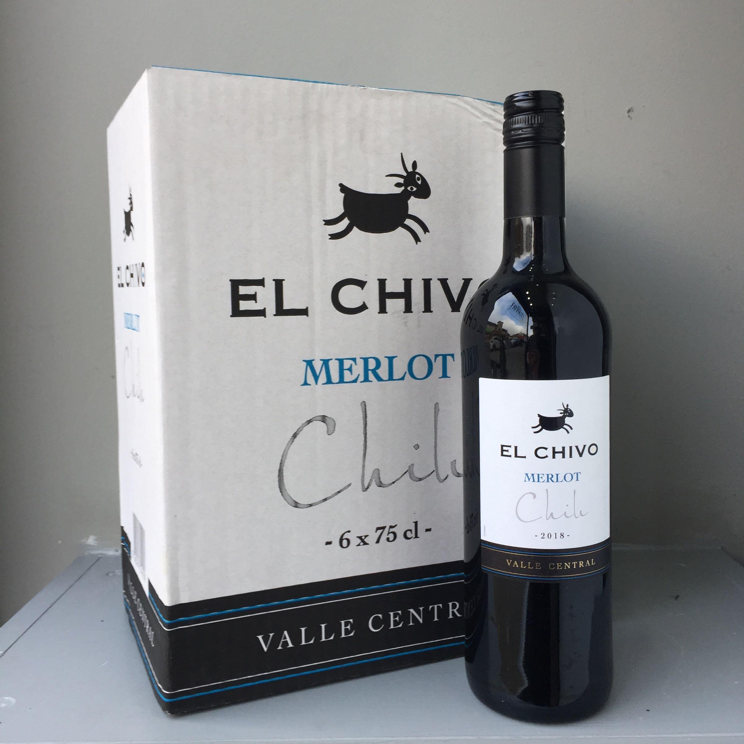 El Chivo Merlot, Case Deal