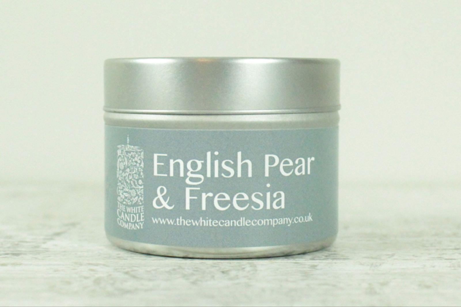 White Candle Co - English Pear & Freesia