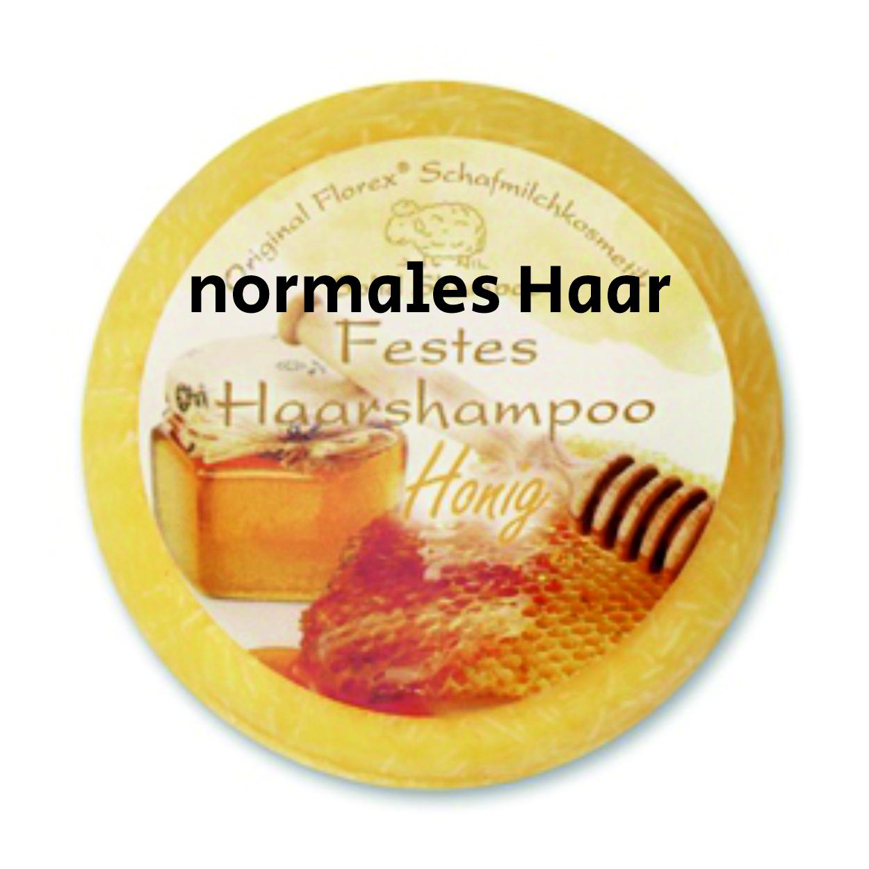 Festes Shampoo Honig