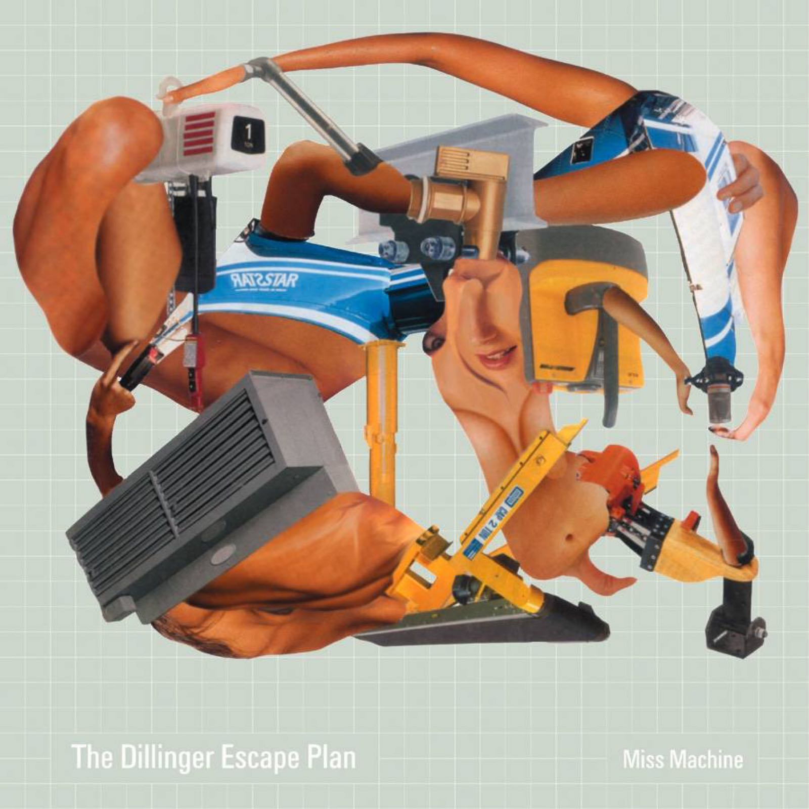 The Dillinger Escape Plan - Miss Machine [LP] (Coke Bottle Green with Rainbow Splatter Vinyl)