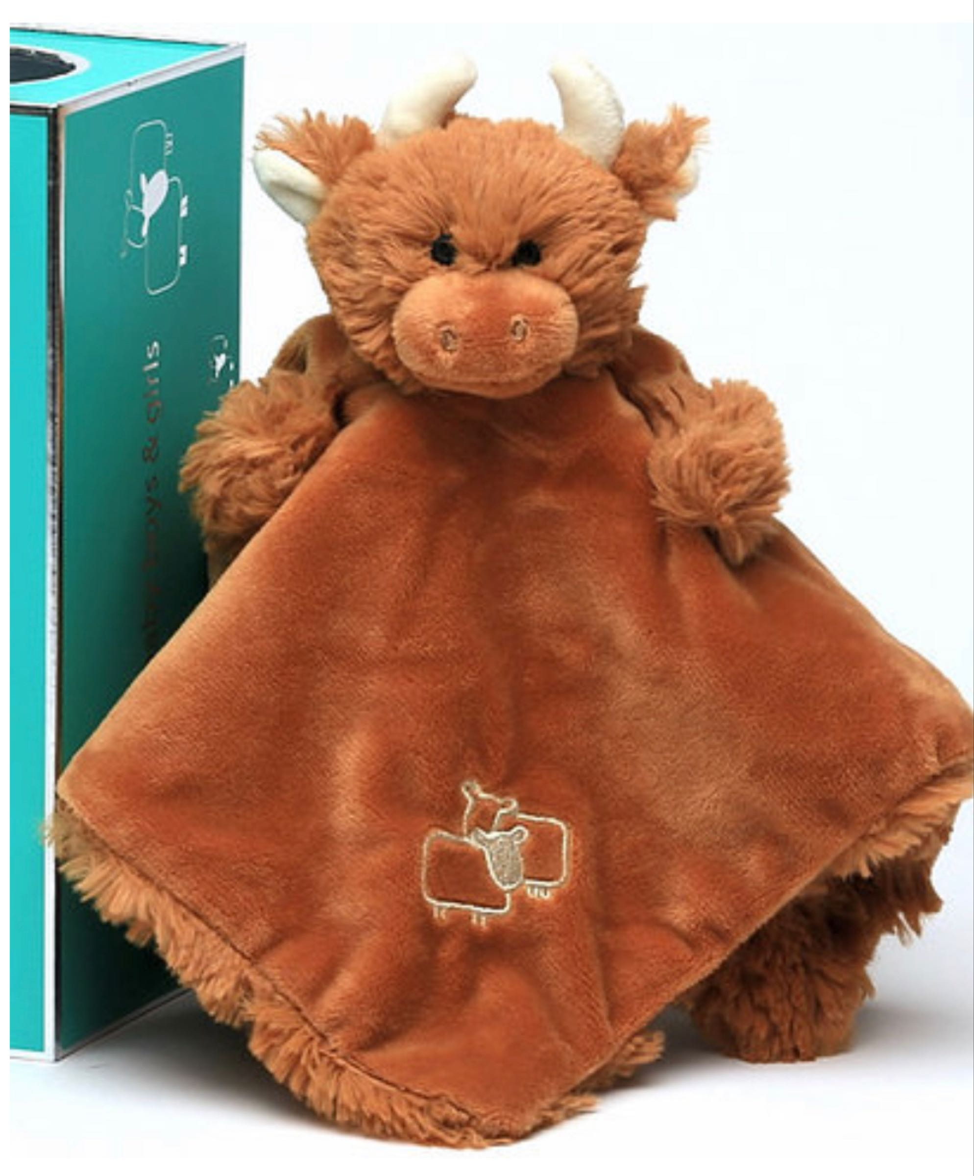 Jomanda  highland cow soother /finger puppet
