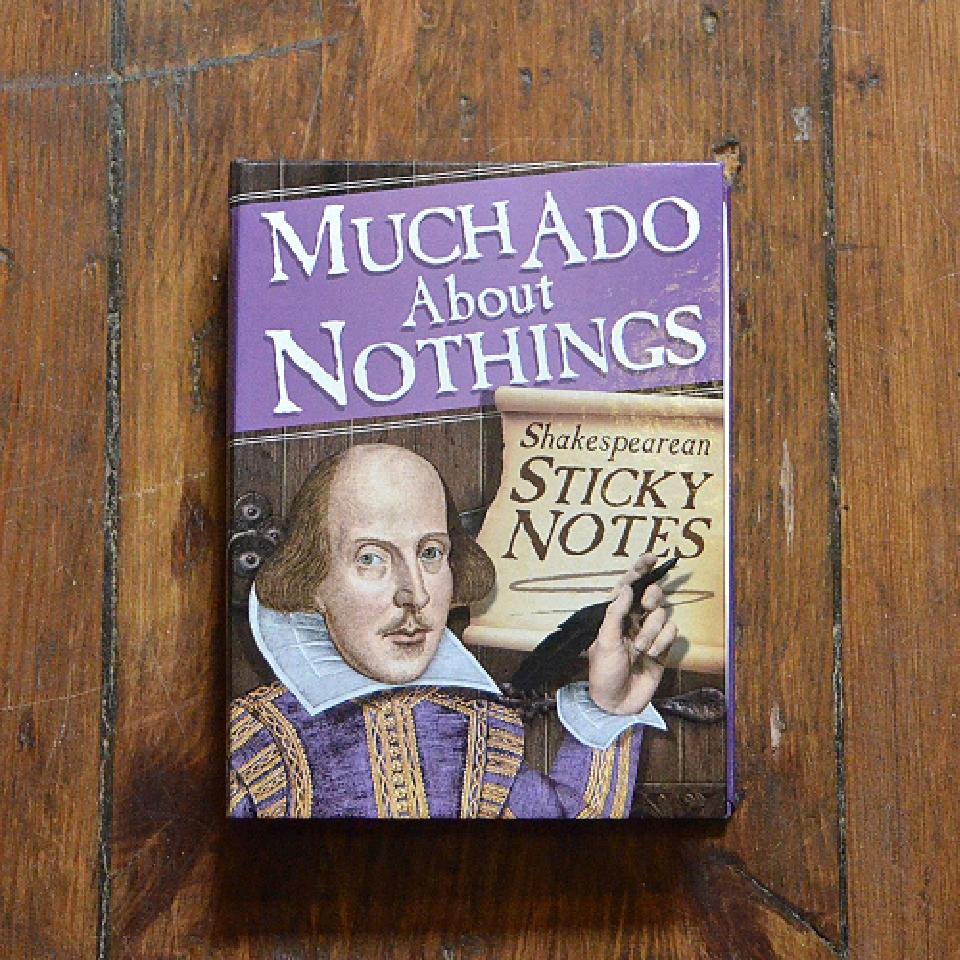 Häftlappar - Shakespeare