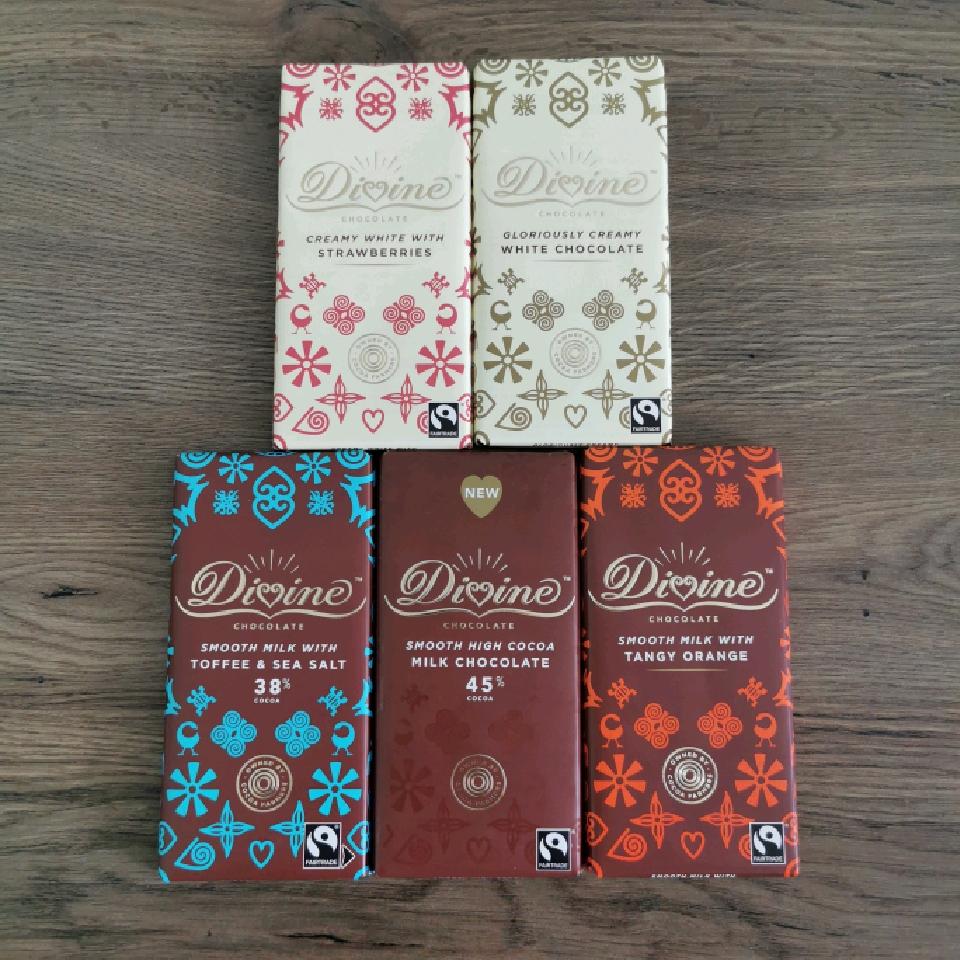 Divine Mjölkchoklad 90 g