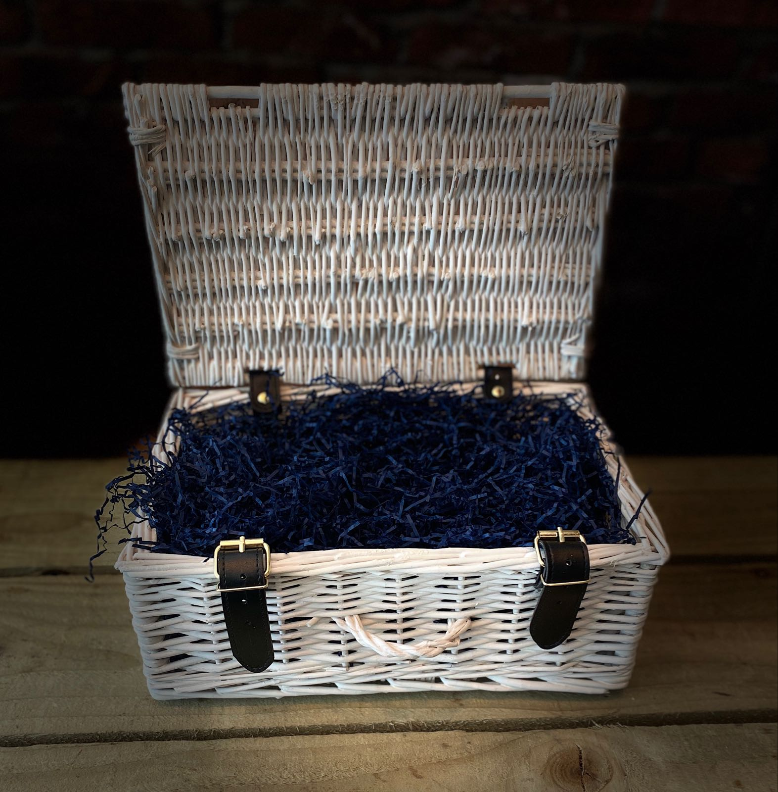 Large Wicker Suitcase - Select and build your own hamper!